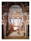Cleopatra's Banquet, 1747-50 Giclee Print by Giovanni Battista Tiepolo