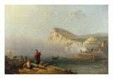 Beachy Head, 1850 Giclee Print by John Wilson Carmichael