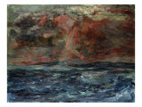 Storm Cloud Giclee Print by William McTaggart