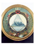 Badge of the Federation of Guatemala, 15th September 1821 Giclee Print