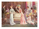Easter Eggs in Town, 1908 Giclee Print by Charles Henry Tenre