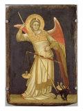 Angel Weighing a Soul, 1348-54 Giclée-tryk af Ridolfo di Arpo Guariento