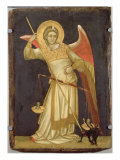 Angel Weighing a Soul, 1348-54 Giclee Print by Ridolfo di Arpo Guariento