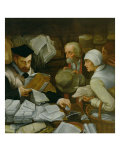 The Tax Collector, 1543 Giclee Print by Paul Vos