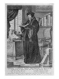John Calvin Giclee Print by Johannes & Mortier, Cornelis Covens