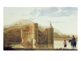 Ubbergen Castle, c.1655 Giclee Print by Aelbert Cuyp