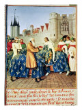 Charles V Giclee Print by Jean Fouquet