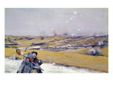 Verdun, 1916 Giclee Print by Francois Flameng