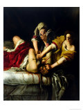 Judith and Holofernes, 1612-21 Reproduction proc&#233;d&#233; gicl&#233;e par Artemisia Gentileschi
