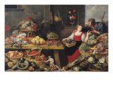 Fruit and Vegetable Market Giclee Print by Frans Snyders