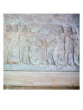 Relief Depicting Archers, from the Palace of Sargon II at Khorsabad, Iraq Reproduction procédé giclée par Assyrian