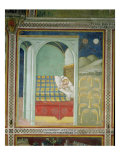 The Dream of Joseph, 1356-67 Giclee Print by Also Manfredi De Battilori Bartolo Di Fredi