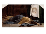 Saint Veronica Giclee Print by Hippolyte Delaroche