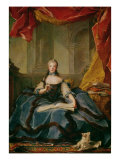 Madame Adelaide de France Giclee Print by Jean-Marc Nattier
