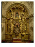Retable of the Sacrament Chapel Giclee Print by Jose Benito De Churriguera