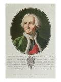 Louis-Joseph de Montcalm Giclee Print by Antoine Louis Francois Sergent-marceau