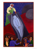 Jesus is Laid in the Tomb, No. 14 in 14 Stations of the Cross Series, 2002 Giclee Print by Laura James