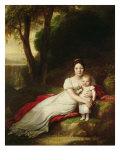 Hortense Eugenie de Beauharnais Giclee Print by Baron Antoine Jean Gros