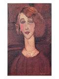 Renee, 1917 Giclee Print by Amedeo Modigliani