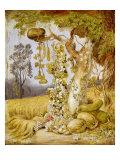 The Fertility of the Earth Giclee Print by Johann Heinrich Wilhelm Tischbein