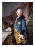 Abel Francois Poisson Giclee Print by Louis M. Tocque