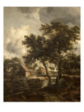 The Watermill, c.1660 Giclee Print by Meindert Hobbema
