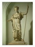 Roman Replica of the Athena Farnese Giclee Print by  Phidias