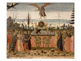 Triumph of Time, Inspired by Triumphs by Petrarch Giclee Print by Jacopo Del Sellaio