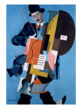 The Musician, 1921 Giclee Print by Ivan Albertovvitsch Puni