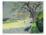 Palais du Trocadero Giclee Print by Jules Ernest Renoux