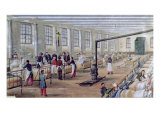 Military Hospital of Val-De-Grace in Paris, 1854 Giclee Print by Louis Amable Crapelet