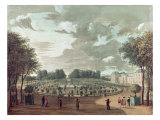 The Luxembourg Gardens Giclee Print by Henri Courvoisier-Voisin