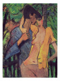 Lovers Giclee Print by Otto Mueller