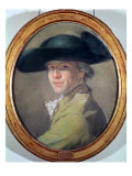 Self Portrait, c.1780 Giclee Print by Dominique Vivant Denon