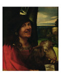 Portrait of a Court Jester Giclee Print by Dosso Dossi