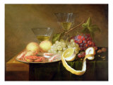 Still Life with Glasses Giclee Print by Joris van Son