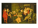 Merry Company Giclee Print by Dirck Hals