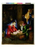 The Nativity, 1527 Giclee Print by Lorenzo Lotto