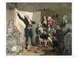 Claude Joseph Rouget de Lisle Giclee Print by Isidore Pils