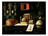 Vanitas Still Life, 1641 Giclee Print by Sebastian Stoskopff