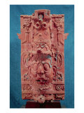 Toniatuh, the Sun God, from the Temple of Cross, Palenque, Maya Classic Period, 5th-10th Century Giclee Print by  Mayan