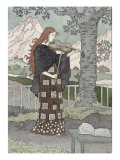 A Musician Giclee Print by Eugene Grasset