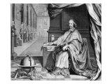 Portrait of Cardinal Mazarin Giclee Print by Robert Nanteuil