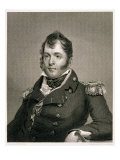 Commodore Oliver Hazard Perry Giclee Print by John Wesley Jarvis