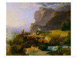 Battle of Thermopylae in 480 BC, 1823 Giclee Print by Massimo Taparelli D' Azeglio