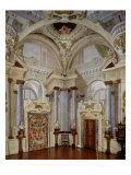 View of the Interior of the Sala Dell'Udienza Giclee Print by Angelo Colonna