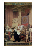 The Death of St. Genevieve Giclee Print by Jean Paul Laurens