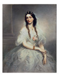 Portrait of Mrs c.W.Stoughton Giclee Print by Richard Buckner