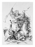 Arab Horseman Giclee Print by Eugene Delacroix