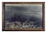 The Dead City Giclee Print by Victor Hugo